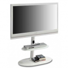 L&C Screen Tower TV Standaard Wit
